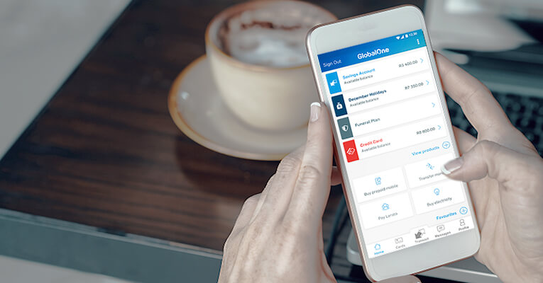 bank with our  new Capitec Bank app
